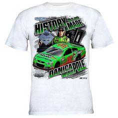 Chase Authentics Danica Patrick 2013 Daytona 500 Pole Winner T-Shirt - White