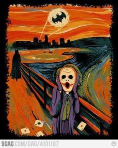 The joker-scream