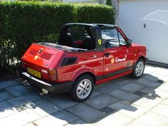 June/July 2014 Picture taken by my dad Impression Poster, Fiat 126, Good Looking Cars, Fiat Cars, Car Polish, Fiat Abarth, Weird Cars, Small Cars, Old Cars