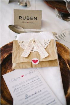 wedding favour ... Nadia van der Mescht (Cupcake Couture)