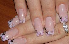 Beautiful nails 2016, Beautiful summer nails, Everyday nails, Festive nails, flower nail art, Long nails, Pale nails 2016, Pale pink nails