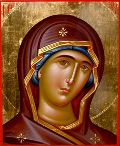 Virgin Mary Painting by Daniel Neculae - Virgin Mary Fine Art Prints and Posters for Sale Virgin Mary Painting, Virgin Mary Art, Byzantine Icons, Byzantine Art, Religious Icons, Religious Art, Madonna, Religion Catolica, Religious Paintings