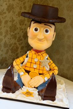 Most epic Woody cake ever!! - I have a client that would love this...he wouldn't eat it but would love it.