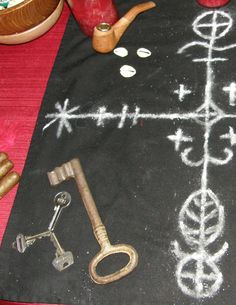 Symbols, keys who knows what direction narrative will take us. Just thought I showed this. The voodoo truth about Papa Legba Voodoo Priestess, Voodoo Hoodoo, Voodoo Spells, Papa Legba, Magick, Witchcraft, Rose Croix, Orisha, Love Spells