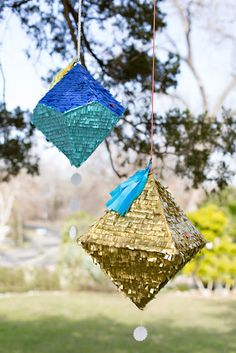 DIY Tutorial: Geometric Piñata