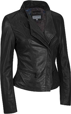 Marc New York Lamb Jacket w/ Rib Knit Sleeve Panels - Wilsons Leather