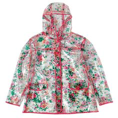 Thorp Flowers Clear Rain Mac | Cath Kidston |