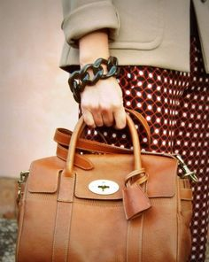 Mulberry Bayswater small satchel natural oak | Street Style ...