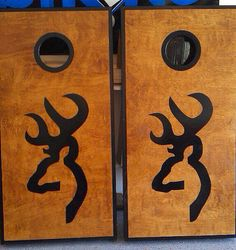 Browning Custom Cornhole Boards Bags and Add On by WGCornhole, $175.00