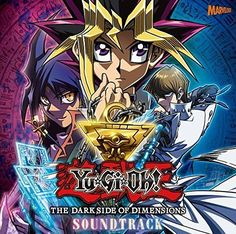 Yu-gi-oh The Dark Side of Dimensions Soundtrack Anime Music CD