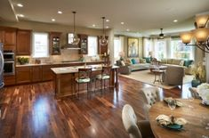 sweet how to decorate an open floor plan. Traditional open space floor plan  Home Decorating Trends Homedit Beautiful home with a gorgeous sweet