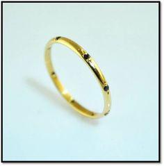 Coleção Miscelânea  -  Em ouro amarelo 18k e diamantes negros