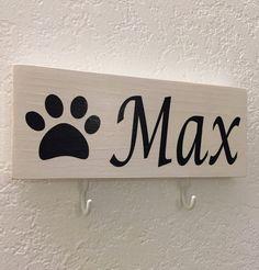 Suspensión de perro correa soporte estante de la por DesignerDog173