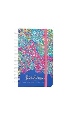 Medium Agenda - Lilly's Lagoon - Lilly Pulitzer Multi Lillys Lagoon
