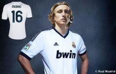 Luka Modric officially signs for La Liga champions Real Madrid