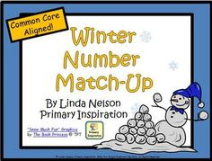 FREE Matching cards for numeral, ten frame, objects, and number word, for 1-10. Common Core alignment included.