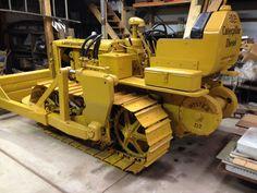 Antique Tractors, Vintage Tractors, Mining Equipment, Heavy Equipment, Caterpillar Equipment, Big Tractors, International Tractors, Crawler Tractor, Engin