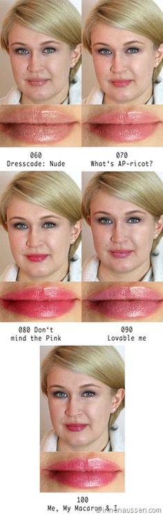Catrice Luminous Lips Lipstick Ab Mitte Januar 2015 im Handel 14 Farben je 3,99€ Das sagt Catrice Die pflegende Textur mit Hyaluronsäure garantiert ein angenehmes Tragegefühl auf den Lippen und polstert sie optisch auf. Das Finish ist ebenmäßig, bietet intensiven Glanz und eine mittelhohe Farbabgabe. Zarte Nude-, feminine Rosen-, intensive Pink- und klassische Rottöne