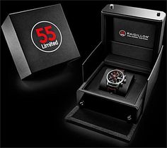 Gorgeous black watch #packaging PD