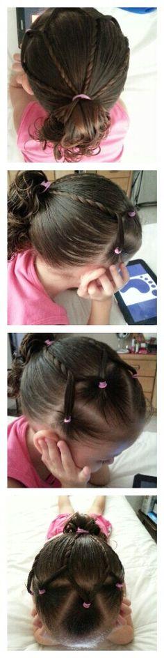 Peinado cruzado