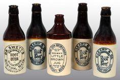 Stoneware Price Guide: Stoneware Root Beer Bottles