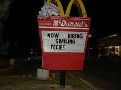 The hiring manager at this McDonald's. | 34 People Who Managed To Screw Up Their One Job