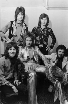 Blue Soul, Kenney Jones, Ronnie Lane, Steve Marriott, Faces Band, Ron Woods, Ronnie Wood, Rod Stewart, British Rock