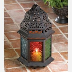 Moroccan Table Lantern, $11, now featured on Fab.