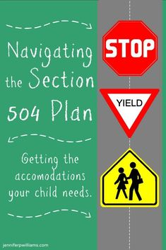 Navigating the Section 504 Plan - What is it? Does your child need one? What are your rights? I'm sharing what I learned after going through the process earlier this year.