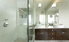 white bathroom mosaic - Sök på Google