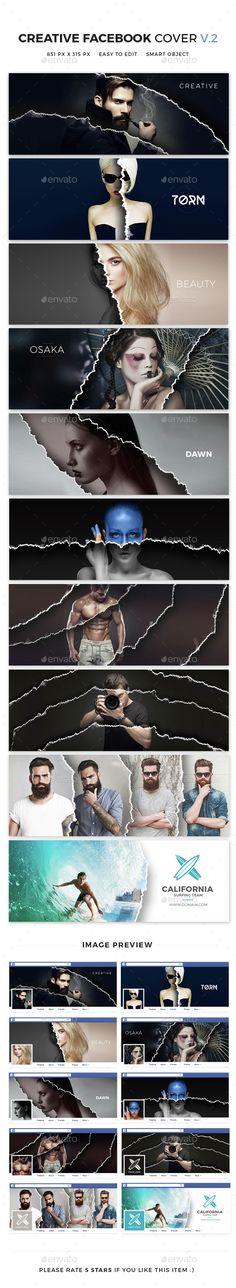 10 Creative Facebook Cover V2