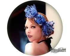 Cute and whimsical, Bonbon candy fascinator by Minikem on Etsy, $69.00