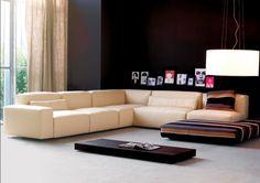 Sofa da với chất liệu da cao cấp, khung gỗ tự nhiên bền chắc
