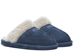 BEARPAW Loki Navy 7 *** Check this awesome product by going to the link at the image. (This is an affiliate link) Women's Slippers, Loki, Navy, Awesome, Check, Image, Fashion, Hale Navy, Moda
