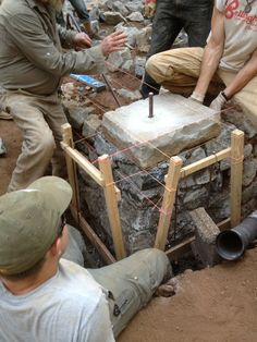 Building a Stone Foundation for a Cob House