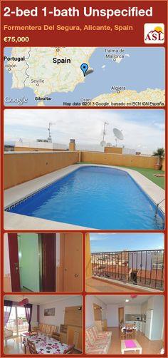 2-bed 1-bath Unspecified in Formentera Del Segura, Alicante, Spain ►€75,000 #PropertyForSaleInSpain