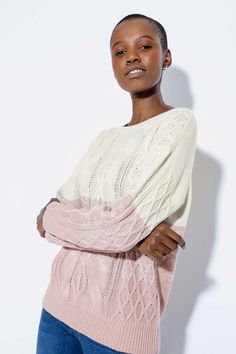 Cable Knit Pullover - Knitwear - Shop by Category - Ladies Lightweight Cardigan, Cable Knit, Fashion News, Knitwear, Crew Neck, Skinny Jeans, Pullover, Knitting, Lady