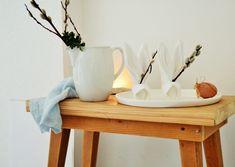 Tischdeko für Ostern: Anleitung für gefaltete Hasen-Servietten von Lucie | SoLebIch.de #interior #einrichtung #einrichtungsideen #deko #dekoration #decoration #living #osterdeko Foto: Lucie