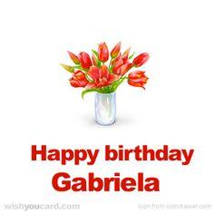 Send Georgie a free personalized Happy Birthday e-Card Happy Birthday Alexandra, Happy Birthday Barbara, Birthday Greetings, Birthday Wishes, Birthday Cards, Birthday Messages, Birthday Blessings, Birthday Celebration, Birthday Name