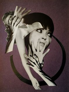 recurring nightmare original collage by bricolagelife 2013