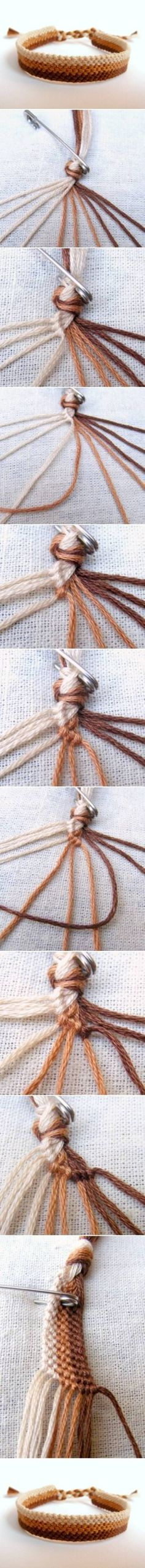 DIY Easy Weave Bracelet by christina.feyduncan