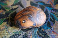 Long haired dachshund Datsun  hand painted by Dreampaintersofsm, $14.00