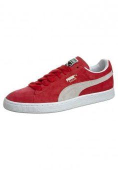 Puma - CLASSIC ECO - Sneakers - red / white