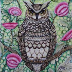 #tropicalwonderland #milliemarotta #art #drawing #kohinoor #fabercastell…