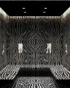 Antolini | Natura Collection-Impala Black Zebra