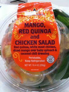 What's Good at Trader Joe's?: Trader Joe's Mango, Red Quinoa and Chicken Salad