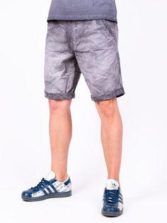 Pantaloni scurti barbati Scoth gri Gym Men, Denim Shorts, Design, Fashion, Moda, Fashion Styles, Fasion, Jean Shorts