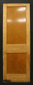 "30""x83"" Antique Arts & Crafts Interior Swinging Birch Wood Door 2 Recessed Panel    eBay"