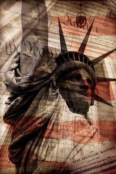 Symbols of freedom. American Freedom, American Spirit, American Pride, American History, American Flag, I Love America, God Bless America, Rockabilly, Statues