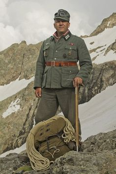 Gebirgsjäger are the light infantry part of the alpine or mountain troops.
